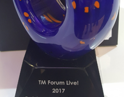 Award TM Forum Live! 2017
