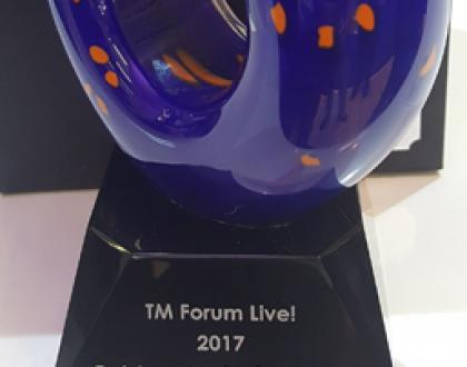 Award TM Forum Live! 2017