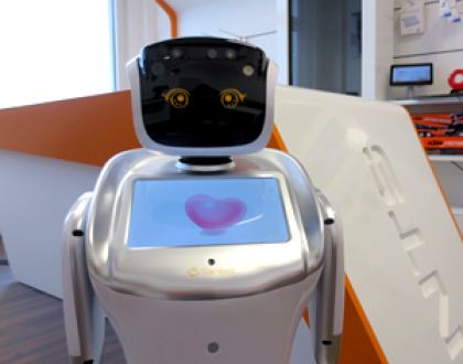 Robots as welcome agents