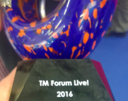 TM Forum Catalyst Award 2016