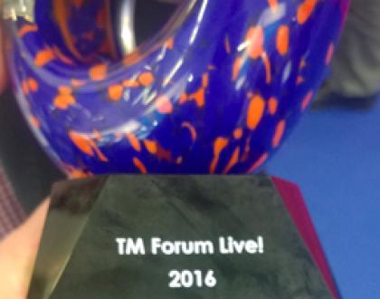 TM Forum Catalyst Award 2016