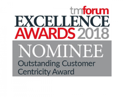 TM Forum Excellence Awards 2018 Nominee