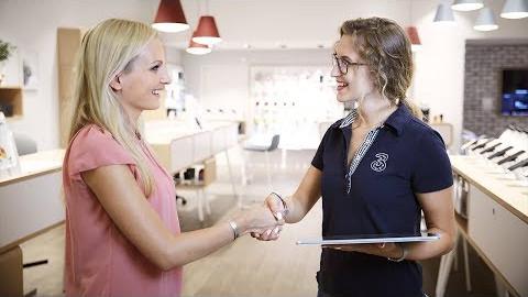 NTS Retail: Welcome- & Queuing Konzept bei Drei Austria (Deutsch)